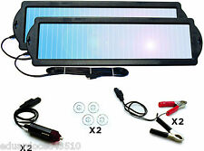 Solar Powered Car Auto Boat Mower Marine Trickle Charger 12V Battery Maintainer