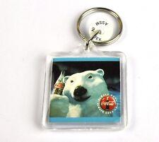 COCA-COLA COKE USA CATENA CHIAVE KEY CHAIN Anello portachiavi - Orso polare Bear