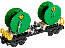 New LEGO City Cable Drum Wagon only from Cargo Train 60052