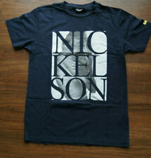 Mens Nickelson round neck T-Shirt Size M marine navy girl limited edition