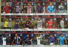 PANINI FIFA 365 2015 2016 DEFENSIVE ROCK full SET 18 CARDS