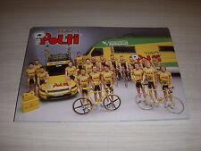 CYCLISME Carte Postale TEAM POLTI avec Luc LEBLANC et l'équipe