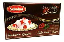 Sebahat turc miel avec roses goût-Güllü les loukoums 500 g