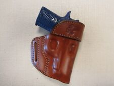 Kimber Micro 380 formed BROWN leather Owb belt holster right hand