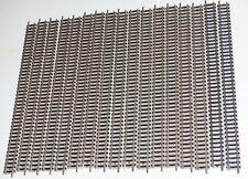 17 Stück 9100 Fleischmann Profigleis Gerade 222 mm sehr guter Zustand Spur N