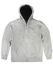 Champion Men's Power-blend Fleece Full Zip Up Front Hooded Jacket Comfy S0891