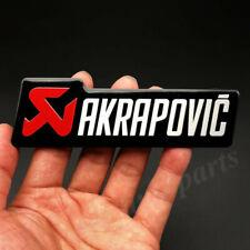 AKRAPOVIC EXHAUST HEAT RESISTANT FOIL STICKER LOGO EMBLEM DECALS 30X30 MM