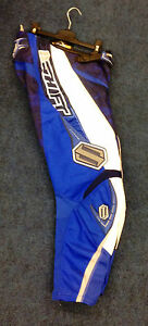"Shift - Adults Faction MotoX Race Trouser - Blue Camo - 30"" Waist"