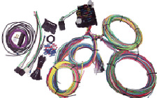 12 Circuit EZ Wiring Harness Chevy Ford Mopar Hotrods