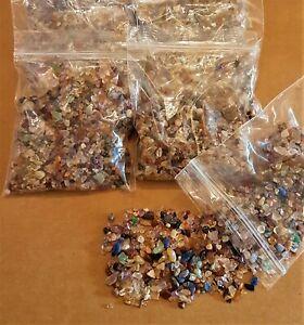 mini crystal chips pagan chakra art