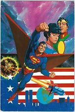 SIGNED Howard Chaykin DC Comics Art Portfolio Cover ~ Superman #400 Man of Steel
