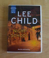 Night School: Lee Child - Unabridged Audio Book - MP3CD