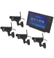 Red Inalámbrica CCTV con visión nocturna 4 X 20 metros cámaras externas.