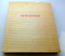 Francoise DEBERDT- semainier - 7 gravures Orig.-Farbradierungen EA 14/15, 1982