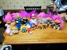 New Listing15 Vintage Troll Dolls , 2 Headed Uneeda , Dam , Russ 1960's-1980'S