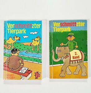 Berlin Information VERSCHMITTZTER TIERPARK Erich Schmitt/Zoo Cartoons/DDR/Osten