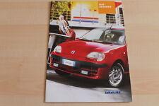 79745) Fiat Seicento Prospekt 02/2001