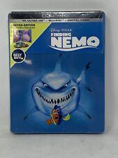 Finding Nemo 4K + Blu-ray + Digital Best Buy Ltd Edition Steelbook *Case Damage*