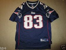 Wes Welker #83 New England Patriots NFL Jersey Youth L 14-16 Large
