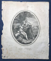 Lotto Di 5 Incisioni XVIII Sec. Giuseppe dell'Acqua Pietro Bonato