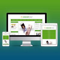 NATURALL - Auktionsvorlage Ebayvorlage Ebay Template Responsive Verkaufsvorlage