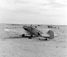WW2 Photo WWII  German Luftwaffe Aircraft Western Desert 42  World War Two /6154