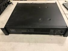 QSC Audio RMX 2450 Two Channel Power Amplifier  Working Great