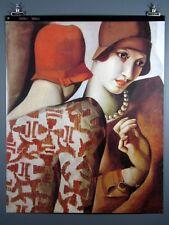 "Tamara De Lempicka, ""Les Deux Aimes""  Gennaio Poster 27x34 Inches New"