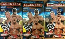 WWE LAMINCARDS TRADING CARDS [3 PACKS] NEW AND SEALED BNIB