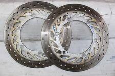 dischi freno anteriore honda cbr 1000 f dal 1993-1998 km 7000 front Brake disc