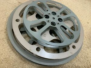 3 DIFFERENT 16MM MOVIE REELS ONE - 800 - 600 - 400 WITH CASE