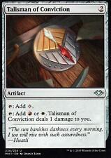 4x Talisman of Conviction | NM/M | Modern Horizons | Magic MTG