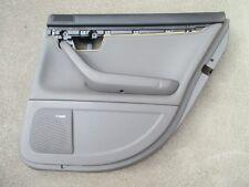 LEDER Türverkleidung hinten rechts Audi A4 B6 8E Avant Verkleidung grau SWING