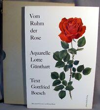 Boesch, Gottfried: Vom Ruhm Der Rose HC