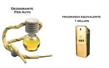 Profumatore Deodorante Profumo Per Auto 1 one MILLION ispirato (spediz. veloce)