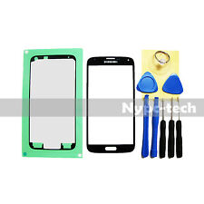 Black Replacement Screen Glass Lens Kit For Samsung Galaxy S5 SM-G900M SM-G900F