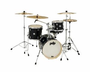 PDP NY Black Onyx Sparkle 4pc Drum Kit - Used