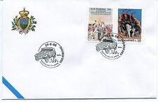 1995-06-24 San Marino rocche per la pace ANNULLO SPECIALE Cover
