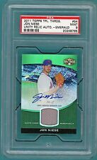 2011 Topps Triple Threads Jon Niese Auto Issue - #54 PSA 9! Mets! POP 1!