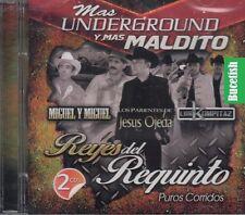 Los Parientes Los Kompitaz Miguel Miguel Reyes Del Requinto Mas Underground 2CD