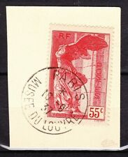 FRANCE - Semi moderne  - Samothrace - 1937 - N° 355 sur fragment signé Calves