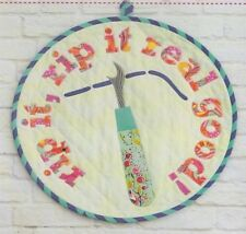 PATTERN - Rip It! Mini Quilt - fun applique PATTERN - Tied with a Ribbon