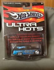 Hot Wheels Ultra Hots '55 CHEVY PANEL Real Riders Black