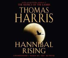 Audio book - Hannibal Rising by Thomas Harris   -   CD