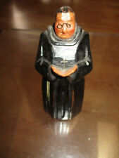Hand Carved Wood Catholic Priest Statue Religious Sculpture Monk wooden