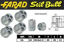 Dadi antifurto Stil Bull Honda CIVIC cod CA cerchi in lega / acciaio