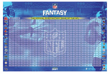 2018 NFL Fantasy Football Draft Board and Kit - 500 Player Labels ESPN CBS Index
