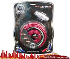 Bge8Rp Bullz Audio 8 Gauge/1000watt Car Amplifier Installation Wiring Kit