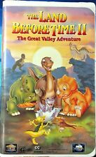 The Land Before Time II The Great Valley Adv (VHS,1994,Special Clam Shell Case)