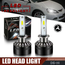 12000LM 6000K H1 COB LED Headlight Bulb Low Beam For 2002-2006 ACURA RSX